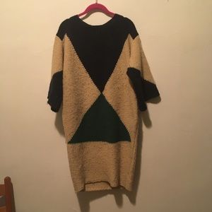 Stella McCartney Wool Tan Oversize Dress 8